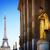 Eiffel · turné · kert · randizás · 1930-as · évek · copy · space - stock fotó © neirfy