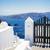 belo · detalhes · santorini · ilha · Grécia · escuro - foto stock © neirfy