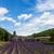 abdij · lavendel · veld · Frankrijk · gebouw · hemel - stockfoto © neirfy