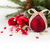 fir tree and red christmas decorations stock photo © neirfy