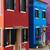 isla · Venecia · Italia · vista · colorido · casas - foto stock © neirfy