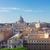 Sint-Pietersbasiliek · Rome · Italië · rivier · kerk · brug - stockfoto © neirfy