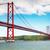 リスボン · 25 · 橋 · ポルトガル · 表示 - ストックフォト © neirfy