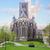 kerk · België · hemel · textuur · klok - stockfoto © neirfy