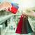 vrouwelijke · handen · groot · geschenkdoos · meisje · winkelen - stockfoto © neirfy