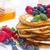 lezzetli · krep · akçaağaç · şurup · taze · karpuzu - stok fotoğraf © neirfy