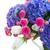 pote · rosa · rosas · fresco · cartão · em · branco · belo - foto stock © neirfy