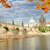 köprü · Prag · kış · şehir · kar · sanat - stok fotoğraf © neirfy