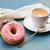 traditioneel · donuts · koffie · vers · zoete · suiker - stockfoto © neirfy