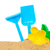 beach toys in sand stock photo © neirfy