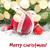 vermelho · natal · bola · decorações · fita - foto stock © neirfy