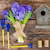blue hyacinth and gardening set up stock photo © neirfy