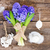 blue hyacinth and easter set up stock photo © neirfy