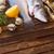 2 · 生 · 魚 · コピースペース · 木製のテーブル - ストックフォト © neirfy