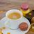 Noel · sabah · kahve · sunmak · kahvaltı · mutlu - stok fotoğraf © neirfy