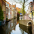 old town delft holland stock photo © neirfy