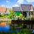 表示 · オランダ語 · 村 · 凍結 · 川 - ストックフォト © neirfy