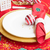 Navidad · vajilla · creativa · foto · sombrero · marrón - foto stock © neirfy