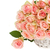 bouquet of pink roses in basket stock photo © neirfy