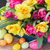 spring flowers bouquet with easter eggs stock photo © neirfy