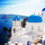 view of caldera with stairs and church santorini stock photo © neirfy