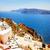 belo · detalhes · santorini · ilha · Grécia · íngreme - foto stock © neirfy