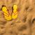 pegadas · praia · natureza · fundo · verão - foto stock © neirfy