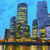 Moscou · noite · da · cidade · cidade · rio · água · azul - foto stock © neirfy