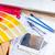szín · útmutató · illusztráció · könyv · absztrakt · festék - stock fotó © neirfy