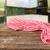 jadalnia · wnętrza · czerwony · ściany · widoku - zdjęcia stock © neirfy