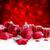 красный · Рождества · снега · мяча · лук - Сток-фото © neirfy