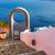 restaurant · mooie · landschap · santorini · eiland - stockfoto © neirfy