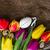 mor · paskalya · yumurtası · tablo · Paskalya · su · doğa - stok fotoğraf © neirfy