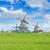 holandés · viento · tradicional · escena · rural · Países · Bajos · retro - foto stock © neirfy