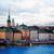 スカイライン · ストックホルム · スウェーデン · 1泊 · 旧市街 · 日没 - ストックフォト © neirfy