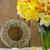 яйца · гнезда · желтые · цветы · Пасха · Top - Сток-фото © neirfy