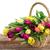 bouquet · coloré · fleurs · canne · panier · blanche - photo stock © neirfy