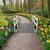 石 · パス · 庭園 · 新鮮な · 春の花 · 花 - ストックフォト © neirfy