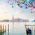 tekne · ada · Venedik · İtalya · su - stok fotoğraf © neirfy