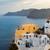 város · Santorini · sziget · Görögország · fehér · templom - stock fotó © neirfy