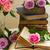 vecchio · libri · fiori · fiori · bianchi · romantica · pizzo - foto d'archivio © neirfy