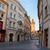 eski · sokak · Prag · dar · şafak · ev - stok fotoğraf © neirfy