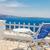 varanda · santorini · Grécia · ver · vulcão · branco - foto stock © neirfy