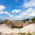 amfiteátrum · városkép · tájkép · utazás · városi · sziluett - stock fotó © neirfy