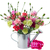 bunch of carnation flowers with gift box stock photo © neirfy