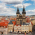 görmek · kilise · Prag · gökyüzü · Bina · mavi - stok fotoğraf © neirfy