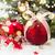 вечнозеленый · дерево · красный · Рождества · украшения · белый - Сток-фото © neirfy