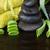 массаж · камней · алоэ · влажный · черный · Орхидеи - Сток-фото © neirfy