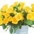bouquet · fresche · rose · giallo · foglie · verdi - foto d'archivio © neirfy