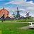 houten · dorp · holland · oude · windmolen · platteland - stockfoto © neirfy